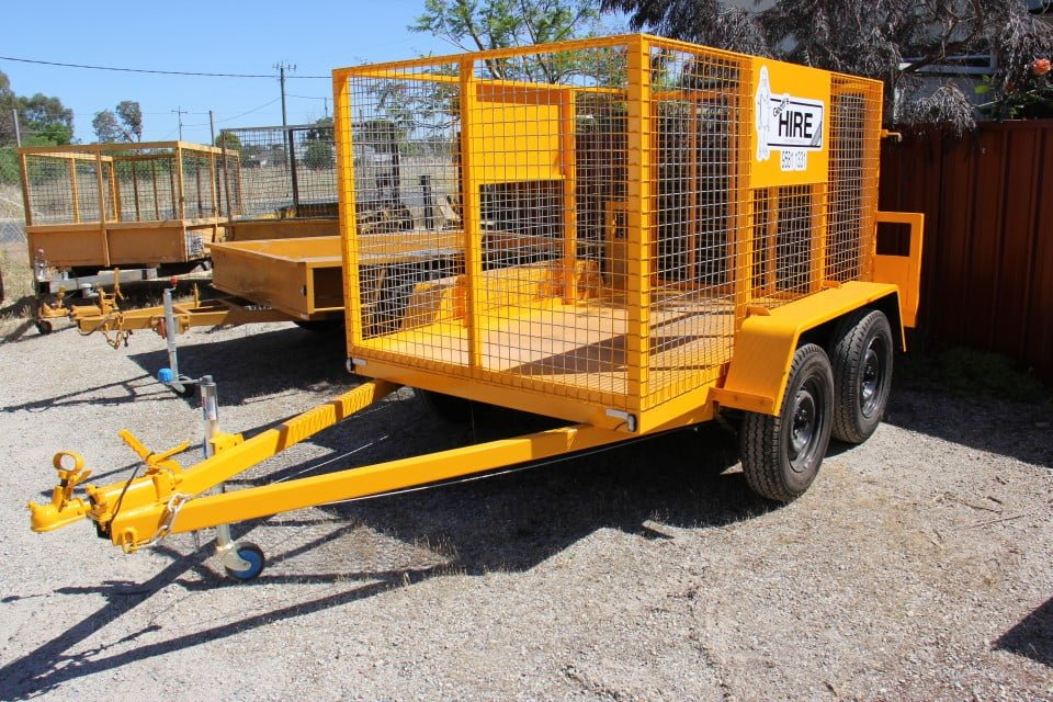 8' x 5' Cage Trailer