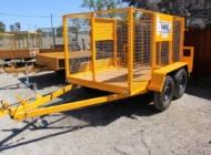 8x5 cage trailer