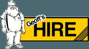 Geoffs Hire landscape logo