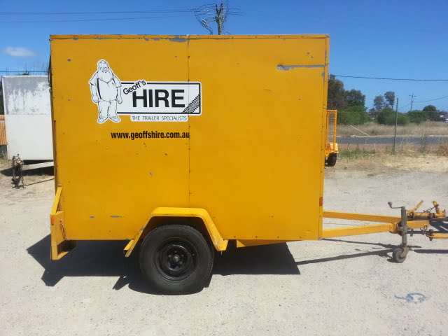 Enclosed Furniture Trailer