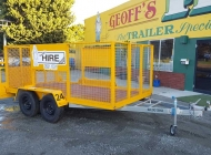 12x6 Cage Trailer