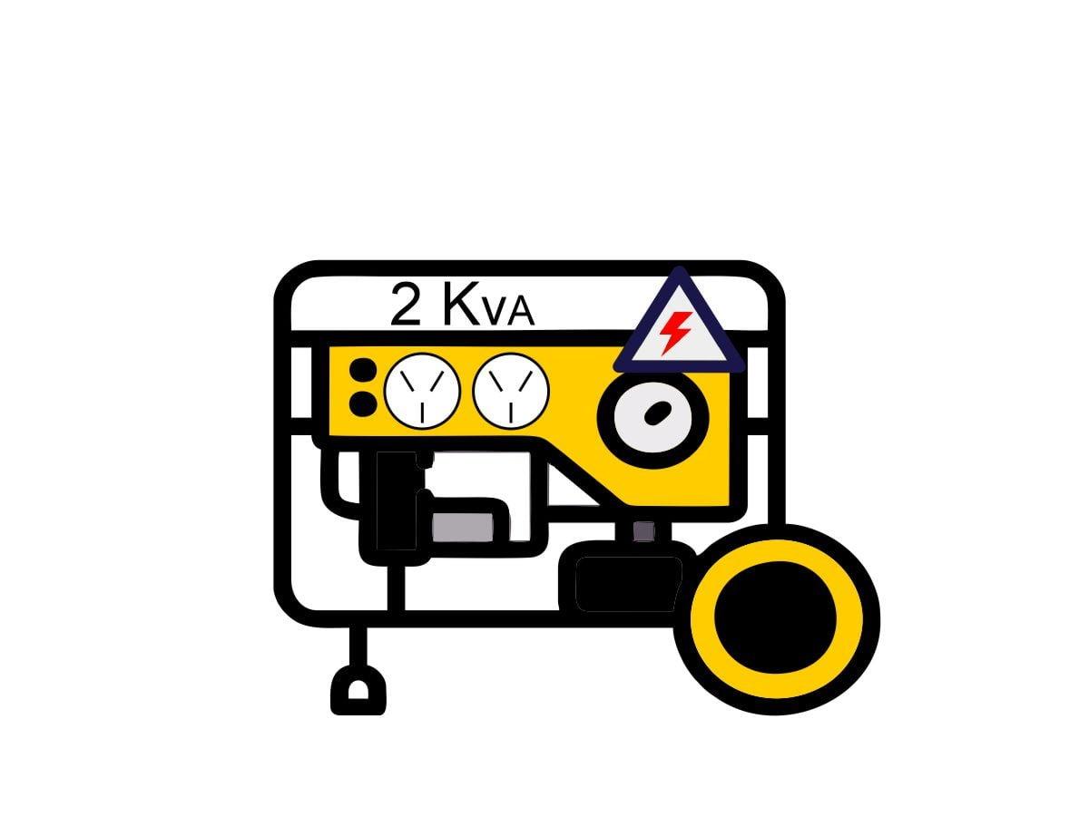graphic of 2Kva generator