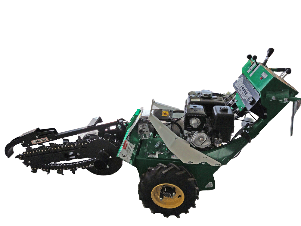 Self-propelled Trencher